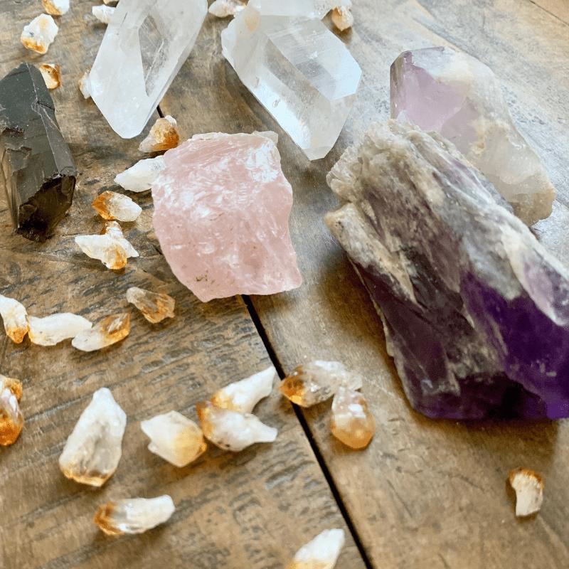 quartz-gemstones